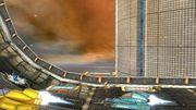 Megaman, Captain Falcon y Fox en Port Town Aero Dive SSB4 (Wii U).jpg