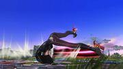 Ataque de Recuperación Boca Abajo Bayonetta SSB Wii U.jpg