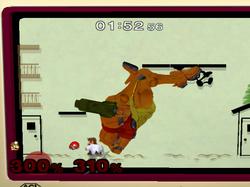El K.O. de pantalla en la Zona Extraplana.