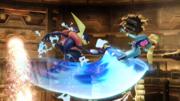 Ataque aéreo hacia adelante (1) Greninja SSB4 (Wii U).png