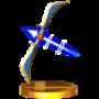 Trofeo de Arco de Palutena SSB4 (3DS).png