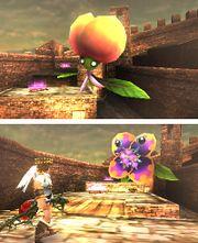 Dafne atacando a Pit en Kid Icarus Uprising.jpg
