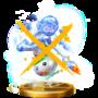 Trofeo de Pintura de Mario oscuro SSB4 (Wii U).png