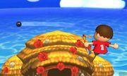 Ataque aéreo hacia atrás Aldeano SSB4 (3DS).jpg