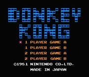 Pantalla de titulo de Donkey Kong (NES).jpg