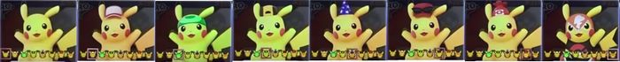 Paleta de colores Pikachu SSBU.jpg