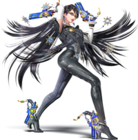 Art oficial de Bayonetta en Super Smash Bros. for Nintendo 3DS / Wii U