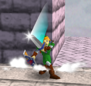 Ataque Smash hacia arriba de Link (2) SSB.png