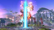 Ataque Smash hacia Arriba de Palutena SSB4 (Wii U).jpg