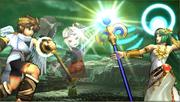 Créditos Modo Leyendas de la lucha Palutena SSB4 (3DS).png