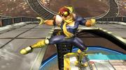 Ataque Smash hacia abajo Captain Falcon SSBB (2).png
