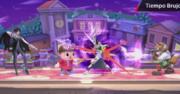 Movimiento especial hacia abajo de Bayonetta (2) SSB4 (Wii U).png