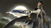 Bayonetta haciendo una burla en la Torre del reloj de Umbra SSB4 (Wii U).jpg