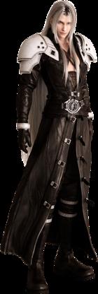 Art oficial de Sephiroth/Sefirot en Final Fantasy VII Remake