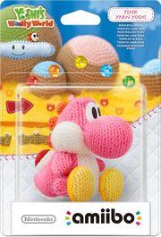 Embalaje del amiibo Yoshi de lana rosa (serie Yoshi's Woolly World).jpg