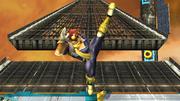Ataque Smash hacia arriba Captain Falcon SSBB (2).png
