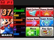 Objetos equipables en el Modo Smashventura SSB4 (3DS).jpg