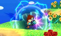 Tirador Mii usando Absorción en Super Smash Bros. for Nintendo 3DS