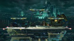 Vista general del escenario en Super Smash Bros. Ultimate.