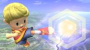 Ataque aereo hacia adelante Lucas SSBB.png