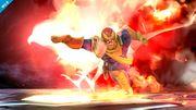 Captain Falcon usando su Gancho de fuego en Destino final SSB4 (Wii U).jpg