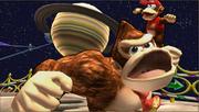 Créditos Modo Senda del guerrero Donkey Kong SSB4 (3DS).png