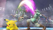 Ataque Smash hacia arriba de Fox SSB4 (Wii U).jpg