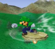 Ataque de recuperación de cara al suelo de Luigi (2) SSBM.png