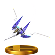 Trofeo de Arwing (Assault) SSB4 (Wii U).png