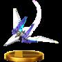 Trofeo de Arwing (Assault) SSB4 (Wii U).png