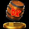 Trofeo de Barril DK SSB4 (Wii U).png