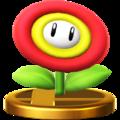 Trofeo de Flor de fuego SSB4 (Wii U).png