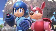 Mega Man y Rush en la Gran Bahía SSBU.jpg