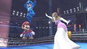 Mario, Mega Man y Zelda en el Ring de boxeo - (SSB. for Wii U).jpg