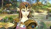 La princesa Zelda en el Vergel de la esperanza SSB4 (Wii U).jpg