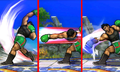 Variaciones del Ataque Smash lateral de Little Mac SSB4 (3DS).png