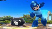 Mega Man junto a un Bill Bala SSB4 (Wii U).jpg