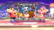 Concierto de Totakeke en Sobrevolando el pueblo SSB4 (Wii U).jpg