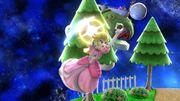 Ataque aéreo hacia adelante Peach SSB4 Wii U.jpg