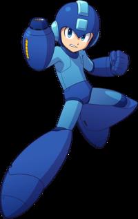 Art oficial de Mega Man en Mega Man 11