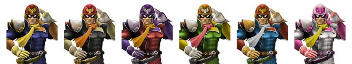 Paleta de Colores Captain Falcon SSBB.jpg