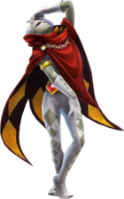 Artwork oficial de Grahim en Hyrule Warriors