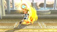 Pit usando el Brazal radial en Super Smash Bros. para Wii U