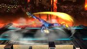 Ataque de recuperación desde el suelo (boca arriba) de Samus Zero (2) SSB4 (Wii U).png