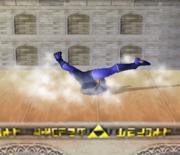 Ataque Smash hacia abajo de Sheik (2) SSBM.png