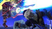 Shulk y Link en el Campo de Batalla SSB4 (Wii U).jpg