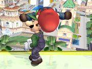 Lanzamiento hacia abajo (2) Mario SSBB.jpg