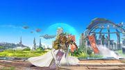 Ataque Fuerte Inferior Zelda SSB4 Wii U.jpg