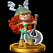 Trofeo de Bárbara SSB4 (Wii U).png