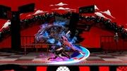Ataque Smash hacia abajo de Joker+Arsene (1) Super Smash Bros. Ultimate.jpg
